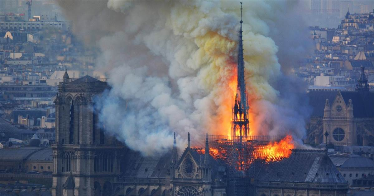 Megvan mitől gyulladt ki a Notre Dame!